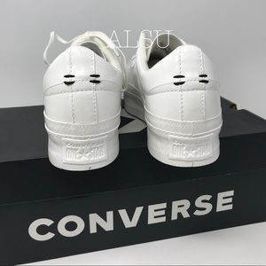 Converse Shoes - Converse One Star Platform Patent White W AUTHENTI